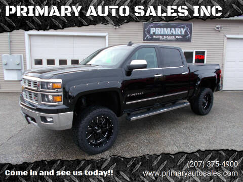 2015 Chevrolet Silverado 1500 for sale at PRIMARY AUTO SALES INC in Sabattus ME