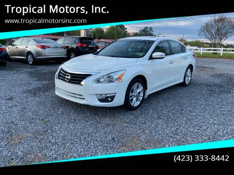 2014 Nissan Altima for sale at Tropical Motors, Inc. in Riceville TN
