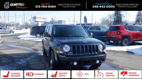2015 Jeep Patriot for sale at Quattro Motors 2 - 1 in Redford MI