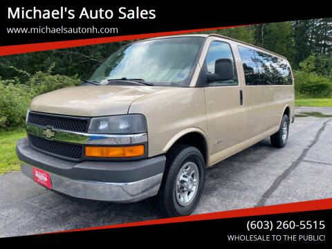 2006 Chevrolet Express Passenger for sale at Michael's Auto Sales in Derry NH
