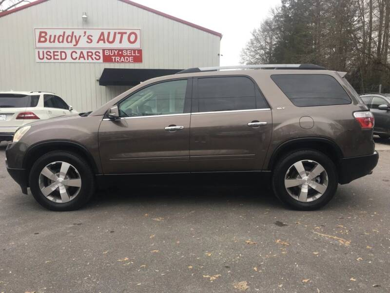 2010 GMC Acadia for sale at Buddy's Auto Inc in Pendleton SC