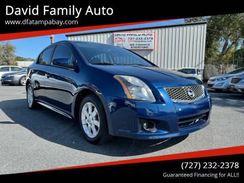 2010 Nissan Sentra for sale at David Family Auto in New Port Richey FL