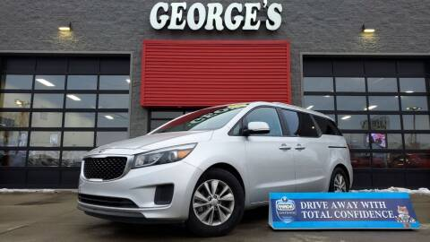 2016 Kia Sedona for sale at George's Used Cars - Pennsylvania & Allen in Brownstown MI