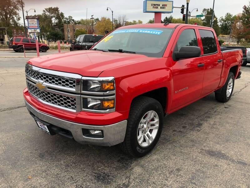 2014 Chevrolet Silverado 1500 for sale at Bibian Brothers Auto Sales & Service in Joliet IL
