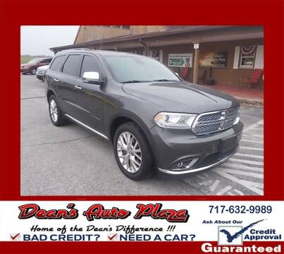 2014 Dodge Durango for sale at Dean's Auto Plaza in Hanover PA