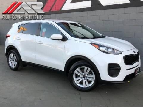 2018 Kia Sportage for sale at Auto Republic Fullerton in Fullerton CA