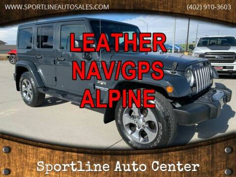 2017 Jeep Wrangler Unlimited for sale at Sportline Auto Center in Columbus NE