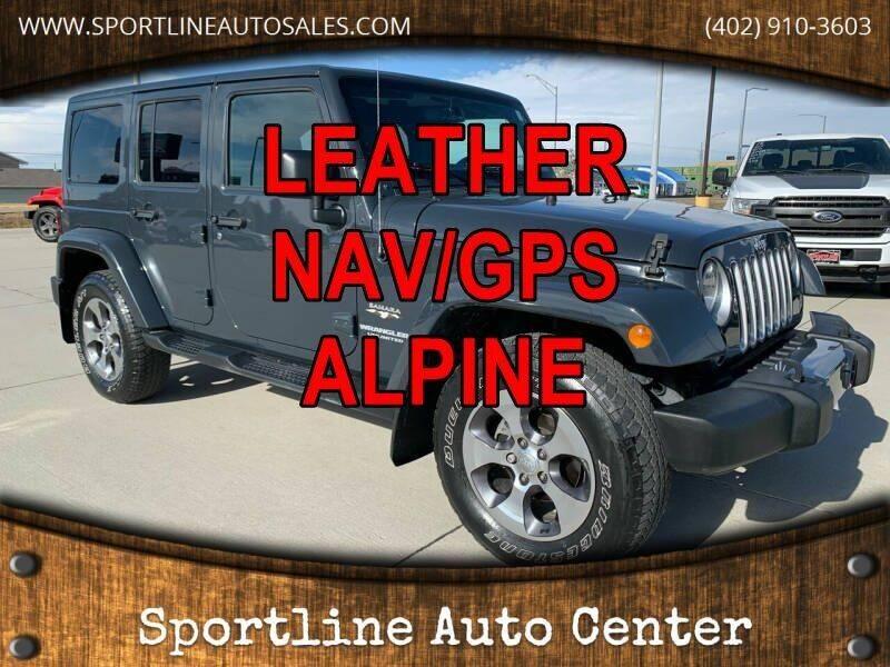2017 Jeep Wrangler Unlimited for sale at Sportline Auto Center in Columbus NE