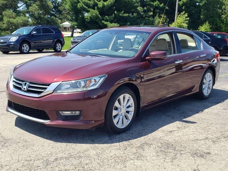 2013 Honda Accord for sale at Thompson Motors in Lapeer MI