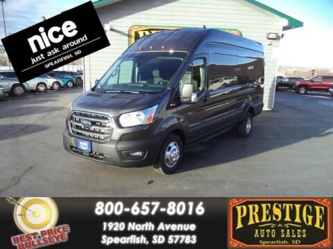 2020 Ford Transit Cargo for sale at PRESTIGE AUTO SALES in Spearfish SD
