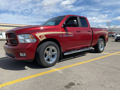 2011 RAM Ram Pickup 1500 for sale at Truck Buyers in Magrath AB