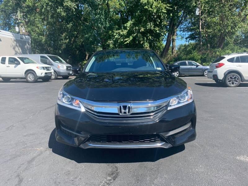 2017 Honda Accord for sale at FIRST CLASS AUTO in Arlington VA