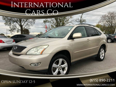 2006 Lexus RX 330 for sale at International Cars Co in Murfreesboro TN