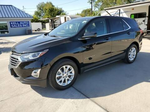 2019 Chevrolet Equinox for sale at Kell Auto Sales, Inc - Grace Street in Wichita Falls TX