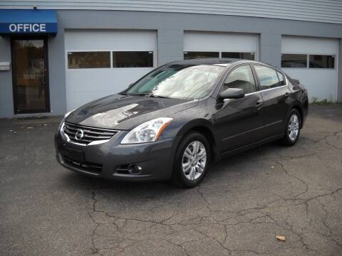 2012 Nissan Altima for sale at Best Wheels Imports in Johnston RI