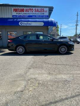 2015 Ford Fusion for sale at PORTLAND AUTO SALES LLC. in Portland OR