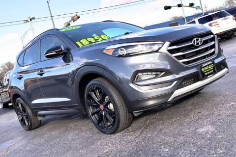 2017 Hyundai Tucson for sale at Island Auto in Grand Island NE