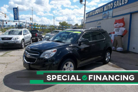 2013 Chevrolet Equinox for sale at Highway 100 & Loomis Road Sales in Franklin WI