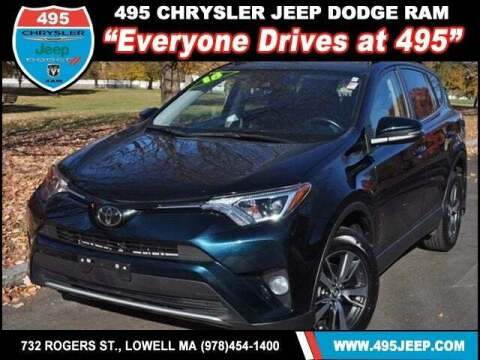 2018 Toyota RAV4 for sale at 495 Chrysler Jeep Dodge Ram in Lowell MA