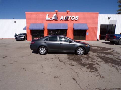 2009 Toyota Camry for sale at L A AUTOS in Omaha NE