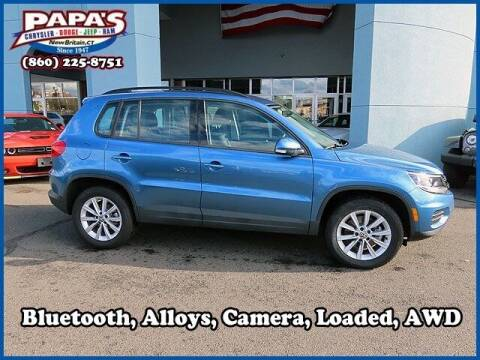 2017 Volkswagen Tiguan for sale at Papas Chrysler Dodge Jeep Ram in New Britain CT
