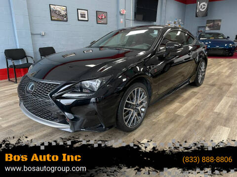 2016 Lexus RC 350 for sale at Bos Auto Inc in Quincy MA