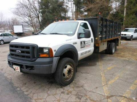 2007 Ford F-450 Super Duty for sale at CASTLE AUTO AUCTION INC. in Scranton PA