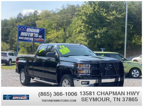2014 Chevrolet Silverado 1500 for sale at Union Motors in Seymour TN