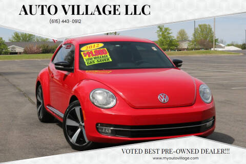 2012 Volkswagen Beetle for sale at AUTO VILLAGE LLC in Lebanon TN