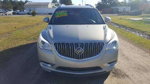 2013 Buick Enclave for sale at Auto Guarantee, LLC in Eunice LA