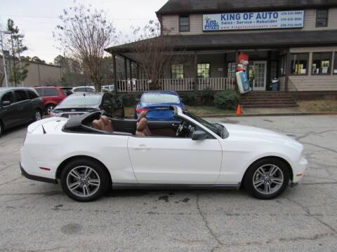 2010 Ford Mustang for sale at King of Auto in Stone Mountain GA