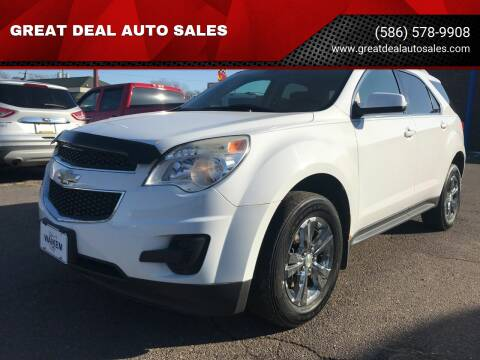 2010 Chevrolet Equinox for sale at GREAT DEAL AUTO SALES in Center Line MI