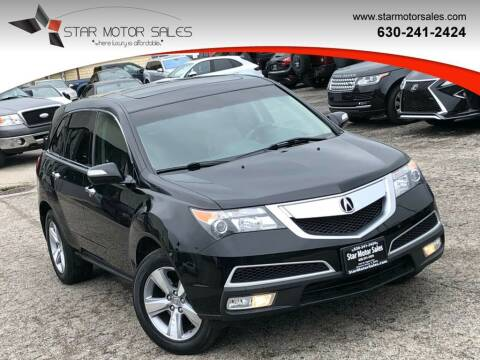 2011 Acura MDX for sale at Star Motor Sales in Downers Grove IL