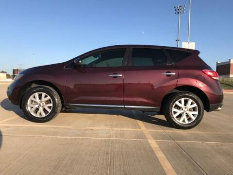 2013 Nissan Murano for sale at ALL AMERICAN FINANCE AND AUTO in Houston TX