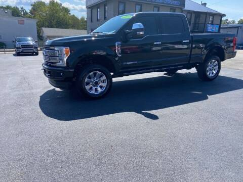 2018 Ford F-250 Super Duty for sale at Sisson Pre-Owned in Uniontown PA