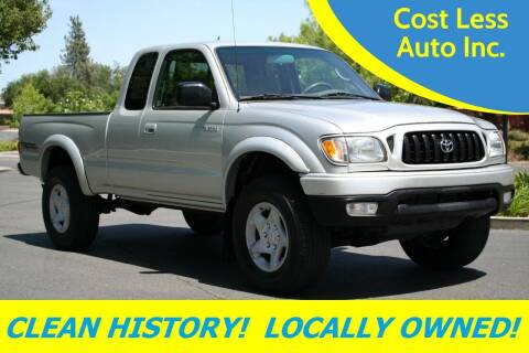 2004 Toyota Tacoma for sale at Cost Less Auto Inc. in Rocklin CA
