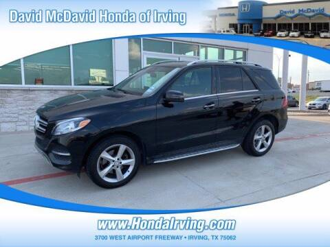 2016 Mercedes-Benz GLE for sale at DAVID McDAVID HONDA OF IRVING in Irving TX