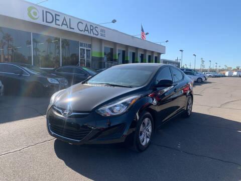2016 Hyundai Elantra for sale at Ideal Cars in Mesa AZ