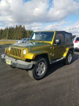 2007 Jeep Wrangler for sale at Jeff's Sales & Service in Presque Isle ME