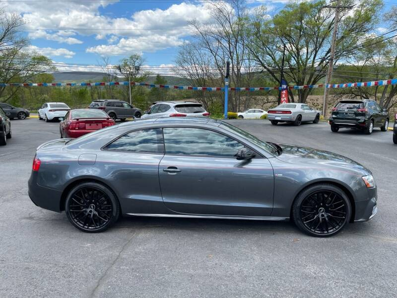 2017 Audi A5 for sale at MAGNUM MOTORS in Reedsville PA