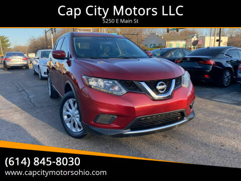 2014 Nissan Rogue for sale at Cap City Motors LLC in Columbus OH