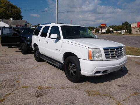 2002 Cadillac Escalade for sale at Pep Auto Sales in Goshen IN