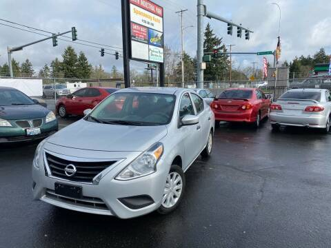 2016 Nissan Versa for sale at Tacoma Autos LLC in Tacoma WA