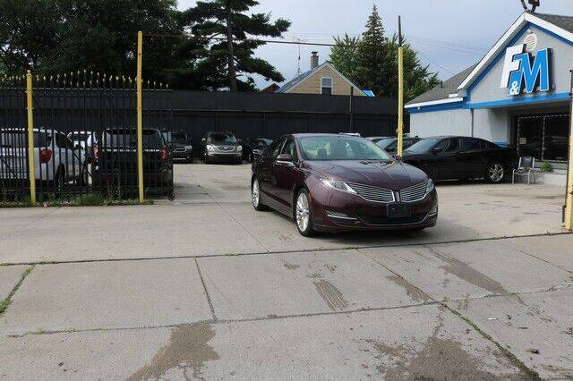 2013 Lincoln MKZ for sale at F & M AUTO SALES in Detroit MI