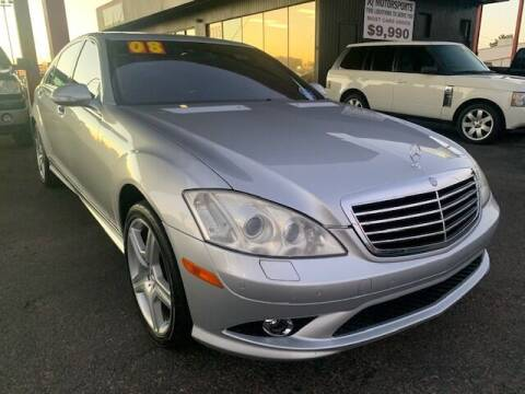2008 Mercedes-Benz S-Class for sale at JQ Motorsports East in Tucson AZ