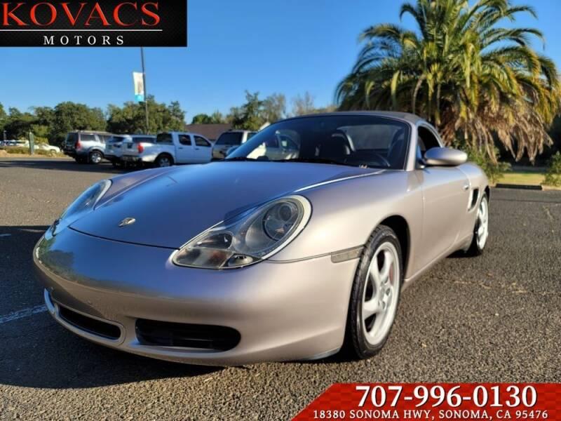 2001 Porsche Boxster for sale in Sonoma, CA