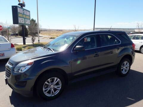 2017 Chevrolet Equinox for sale at More-Skinny Used Cars in Pueblo CO