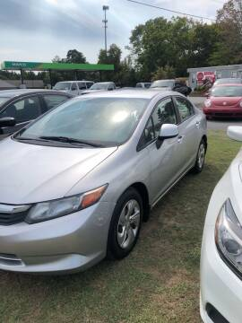 2012 Honda Civic for sale at BRYANT AUTO SALES in Bryant AR