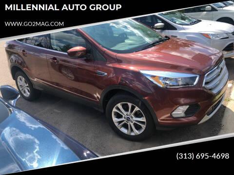 2018 Ford Escape for sale at MILLENNIAL AUTO GROUP in Farmington Hills MI