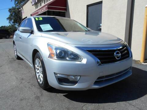 2013 Nissan Altima for sale at AutoStar Norcross in Norcross GA
